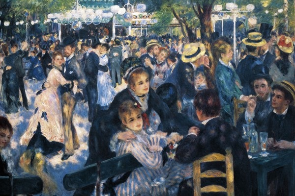 """""""Bal au moulin de la galette"""", 1876, Pierre-Auguste Renoir"""