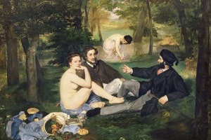 """""""Colazione sull'erba"""", 1863, Edouard Manet"""