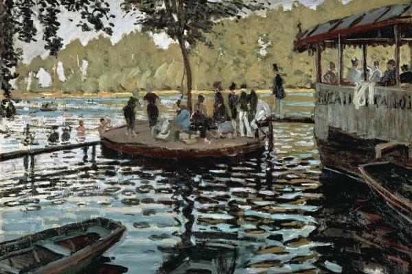 """""""La La Grenoullère"""", 1869, Claude Monet"""