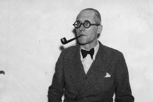 Fotografia di Le Corbusier nel 1938
