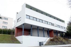Edificio progettato da Le Corbusier nel quartiere Weissenhof di Stoccarda (1927)