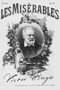 Copertina della prima edizione de I Miserabili di Victor Hugo