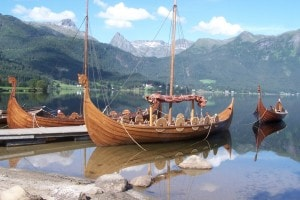 Esemplare di nave vichinga