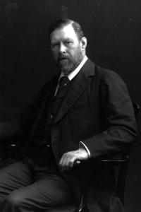 Bram Stoker (1845 - 1912), scrittore irlandese autore di Dracula
