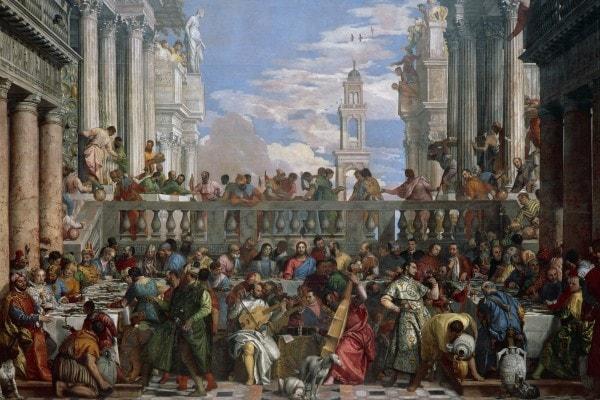 """""""Le nozze di Cana"""", 1563, Paolo Veronese"""