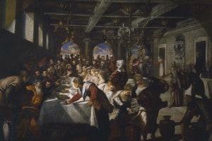 Le Nozze di Cana di Tintoretto