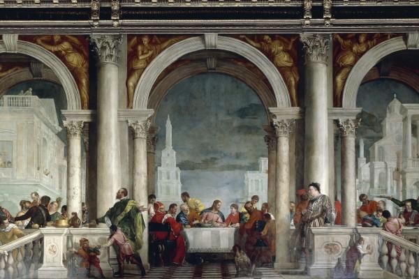 """Ultima cena"" o ""Cena in casa di Levi"", 1563, Paolo Veronese"