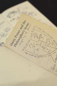 Frontespizio di Harry Potter e la pietra filosofale