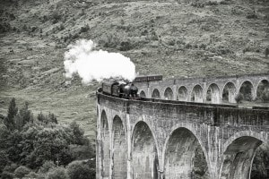 Hogwarts Express: il treno del film di Harry Potter