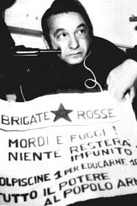 Foto del sequestro di Idalgo Macchiarini per mano delle Brigate Rosse