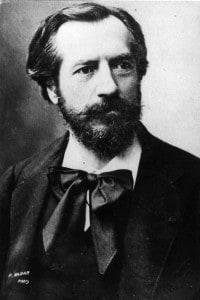 Ritratto di Auguste Bartholdi, scultore che ha disegnato la Statua della Libertà