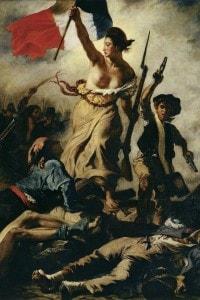 """""""La Libertà che guida il popolo"""", 1830, Eugène Delacroix"""