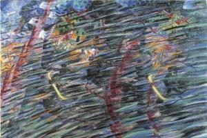 Quelli che vanno di Umberto Boccioni