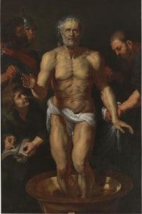 La morte di Seneca, Jacques-Louis David