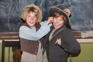 "Foto dal film ""Tom Sawyer"" di Hermine Huntgeburth del 2011, ispirato al romanzo di Mark Twain ""Le avventure di Tom Sawyer"""