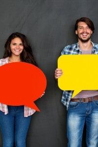 Impostare un tema sulla comunicazione tra ieri e oggi