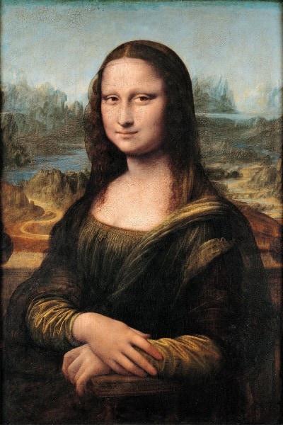 """""""La Gioconda"""" di Leonardo da Vinci (1503). Immagine di repertorio"""
