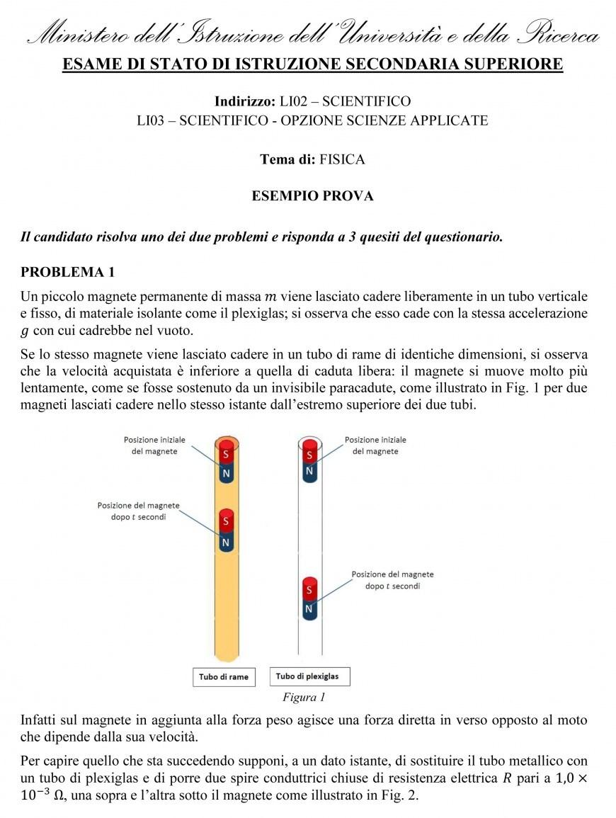 Problema 1 - pagina 1