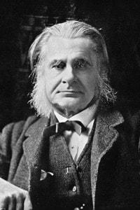 """Foto del biologo inglese Thomas Henry Huxley, il primo ad utilizzare il termine """"agnosticismo"""""""