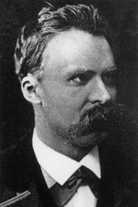 Il filosofo tedesco Friedrich Nietzsche
