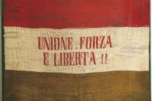 La bandiera della Giovine Italia