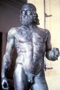 Statua A dei Bronzi di Riace