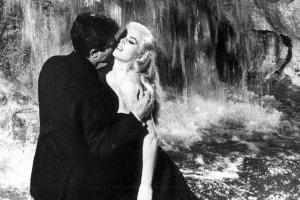 Un'immagine de La dolce vita di Federico Fellini