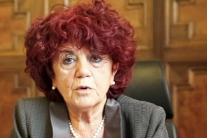 La ministra Valeria Fedeli