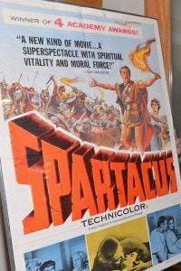 Il personaggio di Spartaco in uno dei tanti riadattamenti realizzati per il mondo dello spettacolo