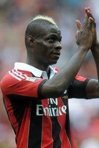 Il calciatore Mario Balotelli, a più riprese vittima di episodi di razzismo