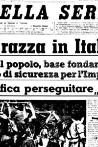 Le leggi razziali del '38 portarono moltissimi studiosi ad abbandonare l'Italia per gli Stati Uniti
