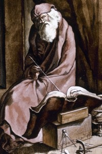 Ritratto di Anassimene di Mileto