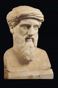 Busto raffigurante Pitagora
