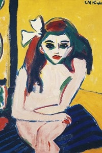 Marcella, dipinto di Ernst Ludwig Kirchner