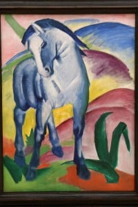 Cavallo blu di Franz Marc