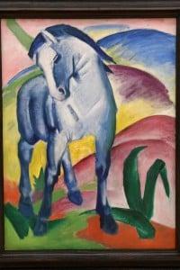Franz Marc, Cavallo Blu