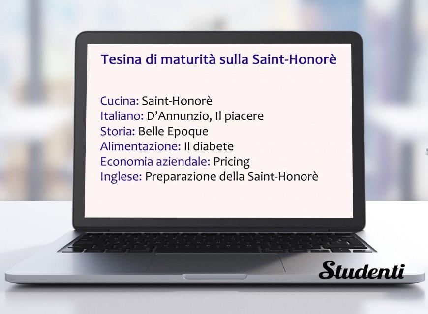 Tesina sulla Saint Honoré