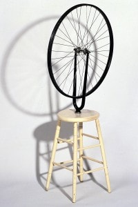 Una delle opere fondamentali del Dadaismo: Marcel Duchamp, Ruota di Bicicletta