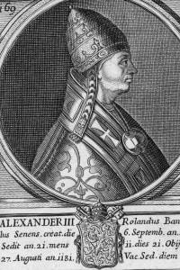 Ritratto di Papa Alessandro III