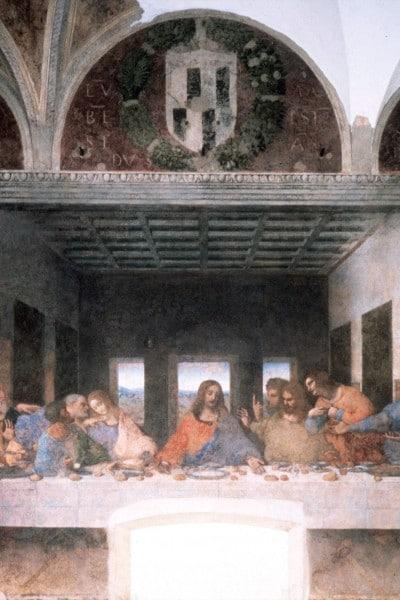 """""""Ultima Cena"""", Leonardo da Vinci, 1495–1498"""