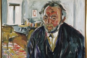 Edvard Munch, Autoritratto