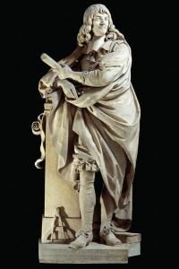 Statua raffigurante Cartesio