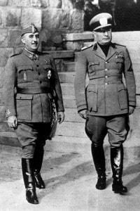 Francisco Franco e Benito Mussolini