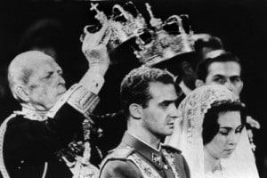 L'incoronazione del re di Spagna Juan Carlos