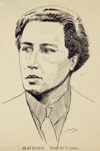 Ritratto di André Breton