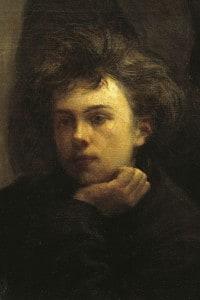 Ritratto di Arthur Rimbaud, uno dei maggiori esponenti del Surrealismo nella letteratura