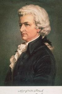 Il compositore austriaco Wolfgang Amadeus Mozart (1756-1791) in un ritratto del 1789 circa