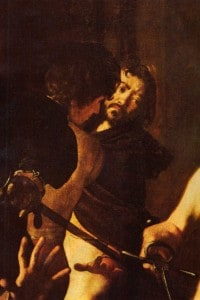 """Un autoritratto di Caravaggio dal """"Martirio di San Matteo"""""""