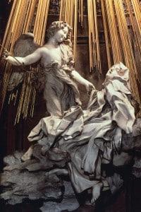 Estasi di Santa Teresa d'Avila di Gianlorenzo Bernini