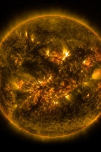 Il Sole visto da una delle sonde della Nasa